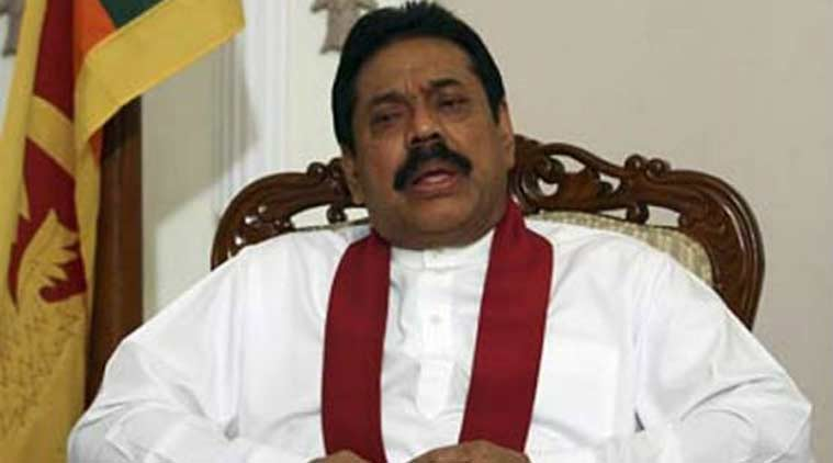 Rajapaksa was the undisputed leader of Lanka for nearly a decade. But the country is grappling with divisions between the Sinhalese majority and Tamil minority groups. (Source: PTI photo)