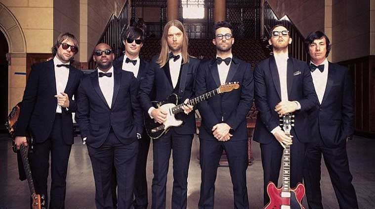 Maroon 5 unveil sugar music video the indian express for Maroon 5 wedding video