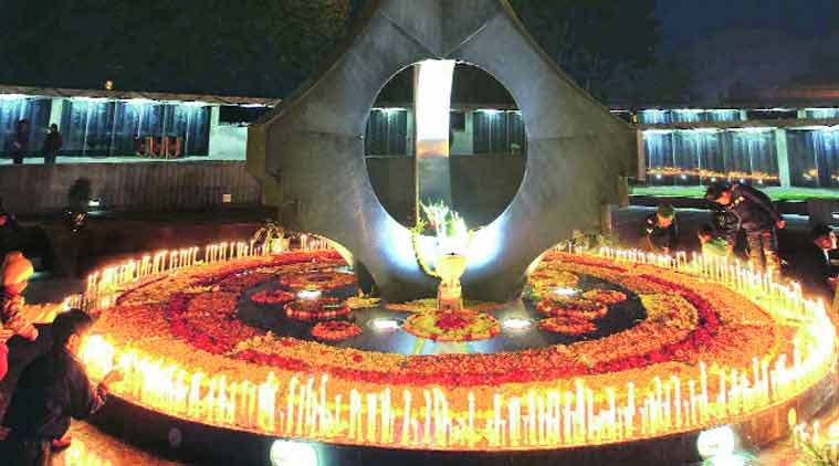 Chandigarh War Memorial in Sector 3. (Source: Express Archives)