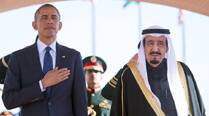 Obama tackles IS fight, Iran with new Saudi king Salman