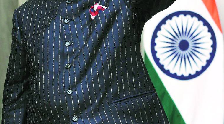 PM Narendra Modi wears Modi on his sleeve and jacket, stylist says fabric came with name woven in
