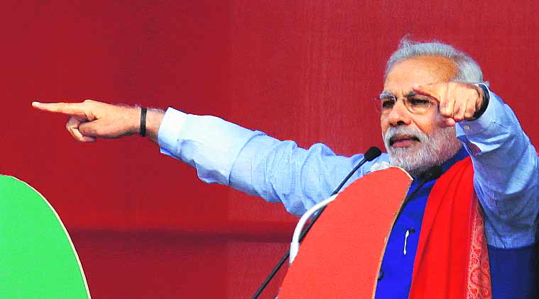 Narendra Modi will be back in poll action this week