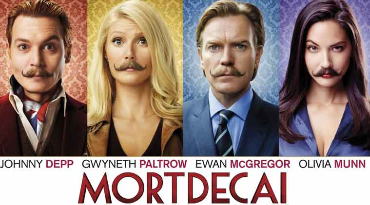 Mortdecai, mortdecai movie review, mortdecai review