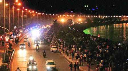 mumbai, led street light