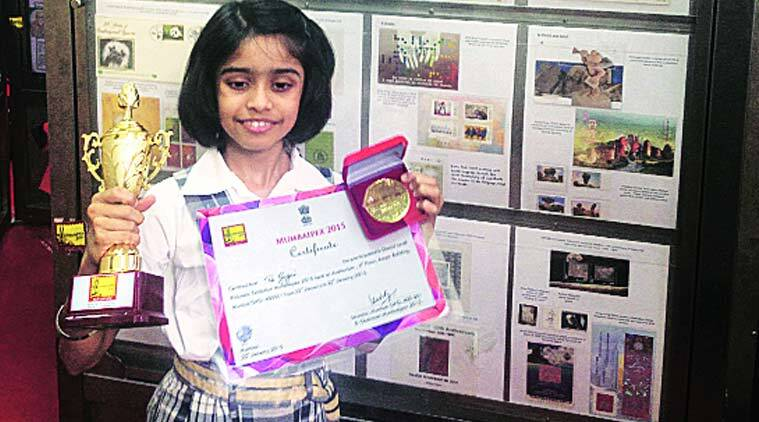 From edible stamps to stamps with seeds, this 11-yr-old has
