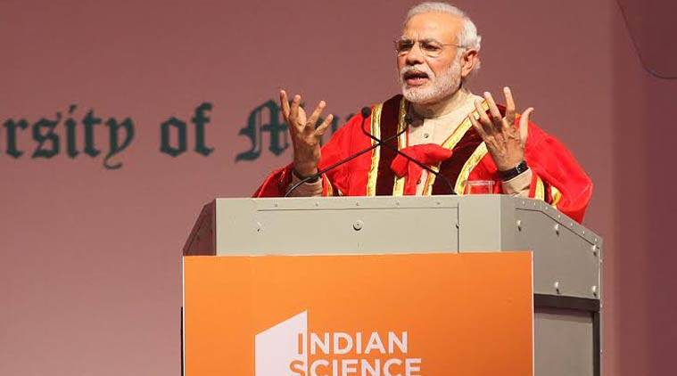 Narendra Modi, Indian Science Congress, Science and Technology