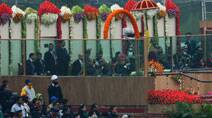 US President Barack Obama experiences India's grand Republic Day parade
