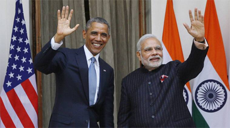 Narendra Modi, Barack Obama, Barack Obama india visit, Barack Obama Modi talk, Modi Obama talk, India US ties, Modi government, NDA government, C. Raja Mohan column,