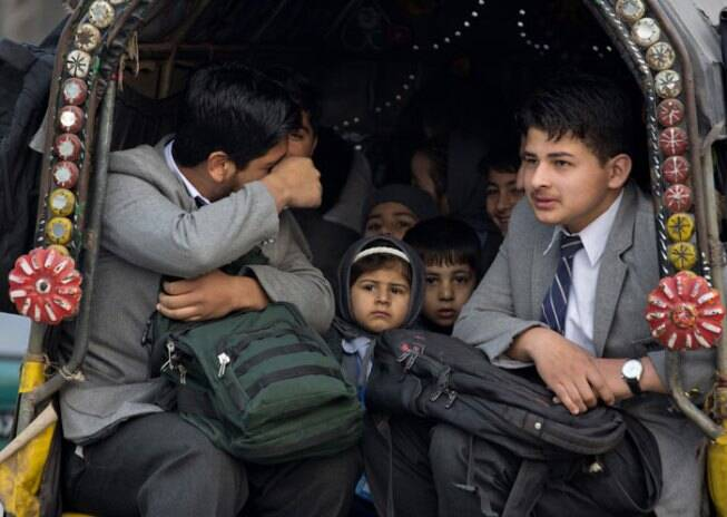 Schools in Peshawar reopen after the Taliban attack