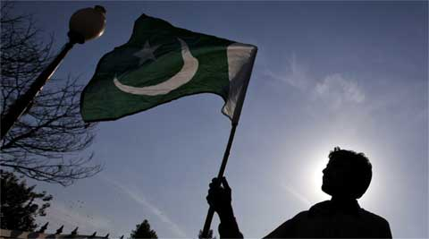 jammu news, J&K news, kashmir news, pak flag in kashmir, pak flag hoisted, pakistan flag hoisted, latest news, india news