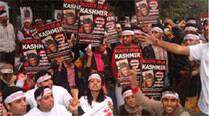 Displaced Kashmiri Pandits protest government 'apathy'