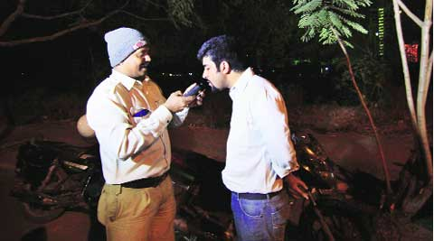 The traffic police have booked 523 drivers for allegedly driving under the influence of alcohol.