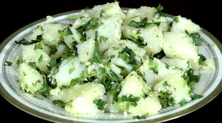 Aloo lovers, try Potato Sesame Salad!