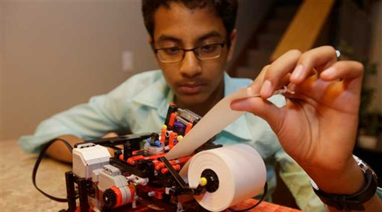 13-year old Indian origin boy become US entrepreneur, builds low-cost Braille printer