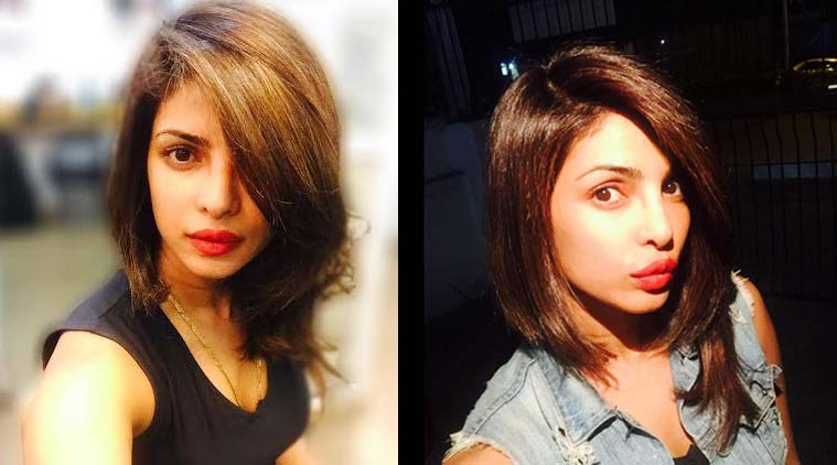 Priyanka chopra debuts short hair cut the indian express actress priyanka chopra has undergone a makeover and chopped off her long locks winobraniefo Choice Image