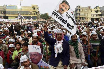 BJP, AAP, Congress candidates rally as campaign battle heats up in Delhi