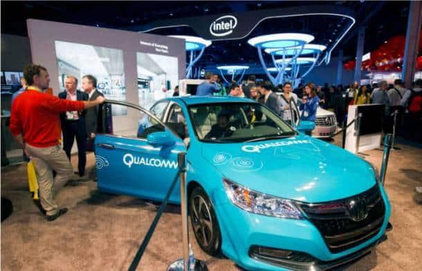 qualcomm electric car, qualcomm electric car CES 2015