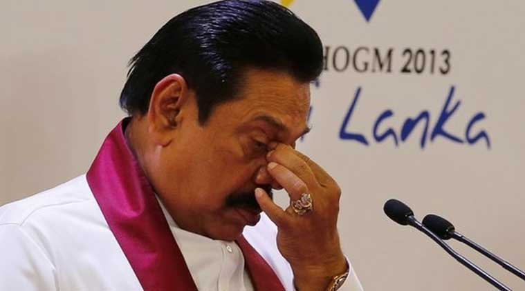 Since the election defeat, Mahinda Rajapaksa has faced a tough time with many of his party members joining hands with Sirisena. (Source: AP photo)