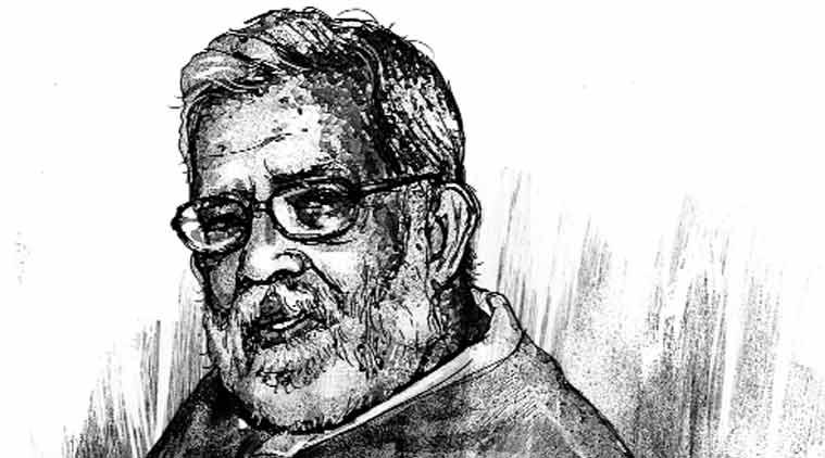 Rajni Kothari. (Source: Illustrated by C R Sasikumar)