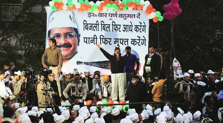 Kejriwal's speeches change colours with constituencies