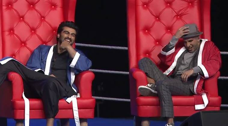 AIB, All India Bhakchod video, Ranveer Singh, Arjun Kapoor, Ranveer Singh AIB video, Arjun Kapoor AIB video, Deepika Padukone Ranveer Singh, Karan Johar AIB, entertainment news