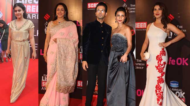 Kajol, Hema Malini, Patralekha, Anurag Kashyap on red carpet