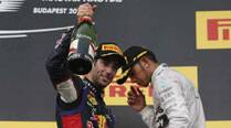 It would be nice to take at least one title off Lewis Hamilton, says DanielRicciardo