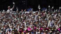 Richie Benaud ill, 300 Richies take his place at theSCG
