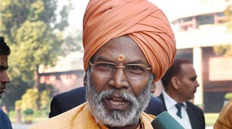 Sakshi Maharaj, MoS, Mahesh Sharma, Badraka, lucknow news, city news, local news, lucknow newsline