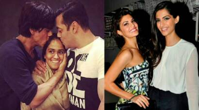 Salman-SRK, Jacqueline-Sonam are Bollywood best friends