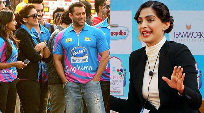 Salman Khan enjoys a game of cricket, Sonam Kapoor shows off literary side
