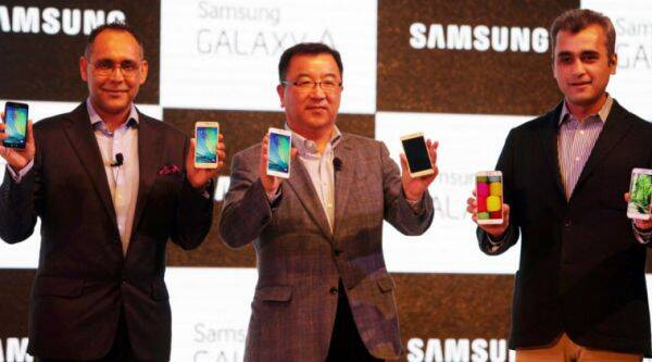 Samsung Galaxy E5, Samsung Galaxy E7, Samsung Galaxy A5, Samsung Galaxy A3, Latest Samsung galaxy smartphones, technology news