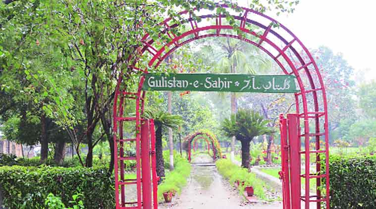 Gulistan-e-Sahir, the botanical garden was created by the late Urdu poet Bhupinder Aziz Parihar. (Source: Express Photo)