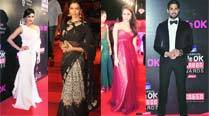 Red Carpet Award Style: Mix of edgy western and elegant Indian at 21st Screen Awards2015