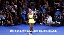 A ball, a racket and Grand Slam number 19 for Serena