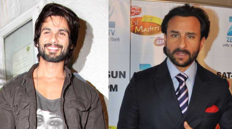 Saif Ali Khan Shahid Kapoor to Replace Saif Ali Khan