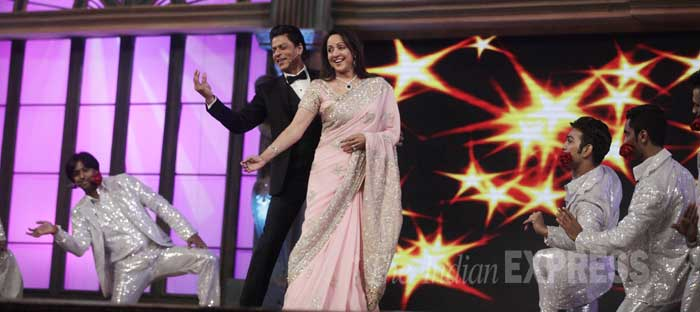 screen awards 2015, lifeok screen awards, hema malini, shah rukh khan, srk