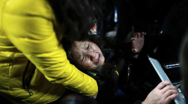 Of the 47 injured, 13 were in critical condition, the city officials said. (Source: AP photo)
