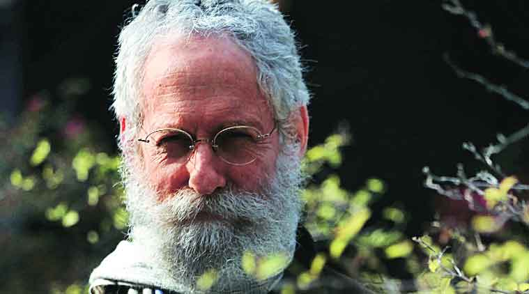 Sheldon Pollock at Jaipur Literature Festival 2015. (Source: Express Photo by Oinam Anand)