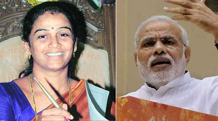In her letter, Raul has said she is inspired by Modi's address to the Nation and his aim of making the country 'Nashamukht'.