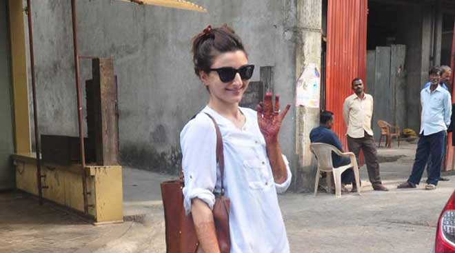 Soha Ali Khan 'nails' it a day before her marriage