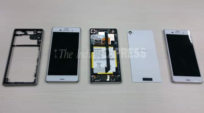 Sony Xperia Z3 teardown, Sony Xperia Z3 inside specs, Sony Xperia Z3