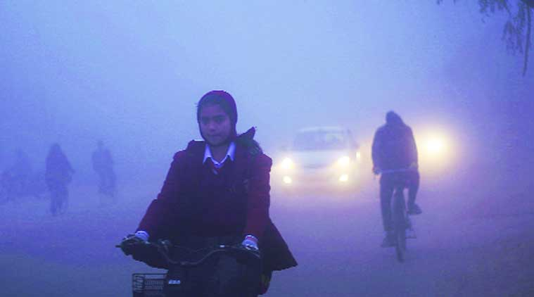 High pollution no reason to skip school. (Express Archive)