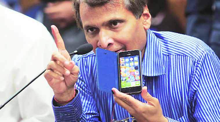 how to meet suresh prabhu