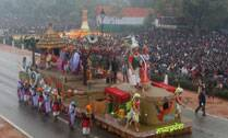 Tableau show at Rajpath