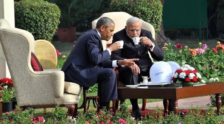 """Prime Minister Modi, thank you for hosting me, including our 'chai pe charcha'. (Source: PIB photo)"