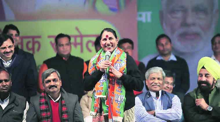 krishna tirath, BJP, Congress, Dalit