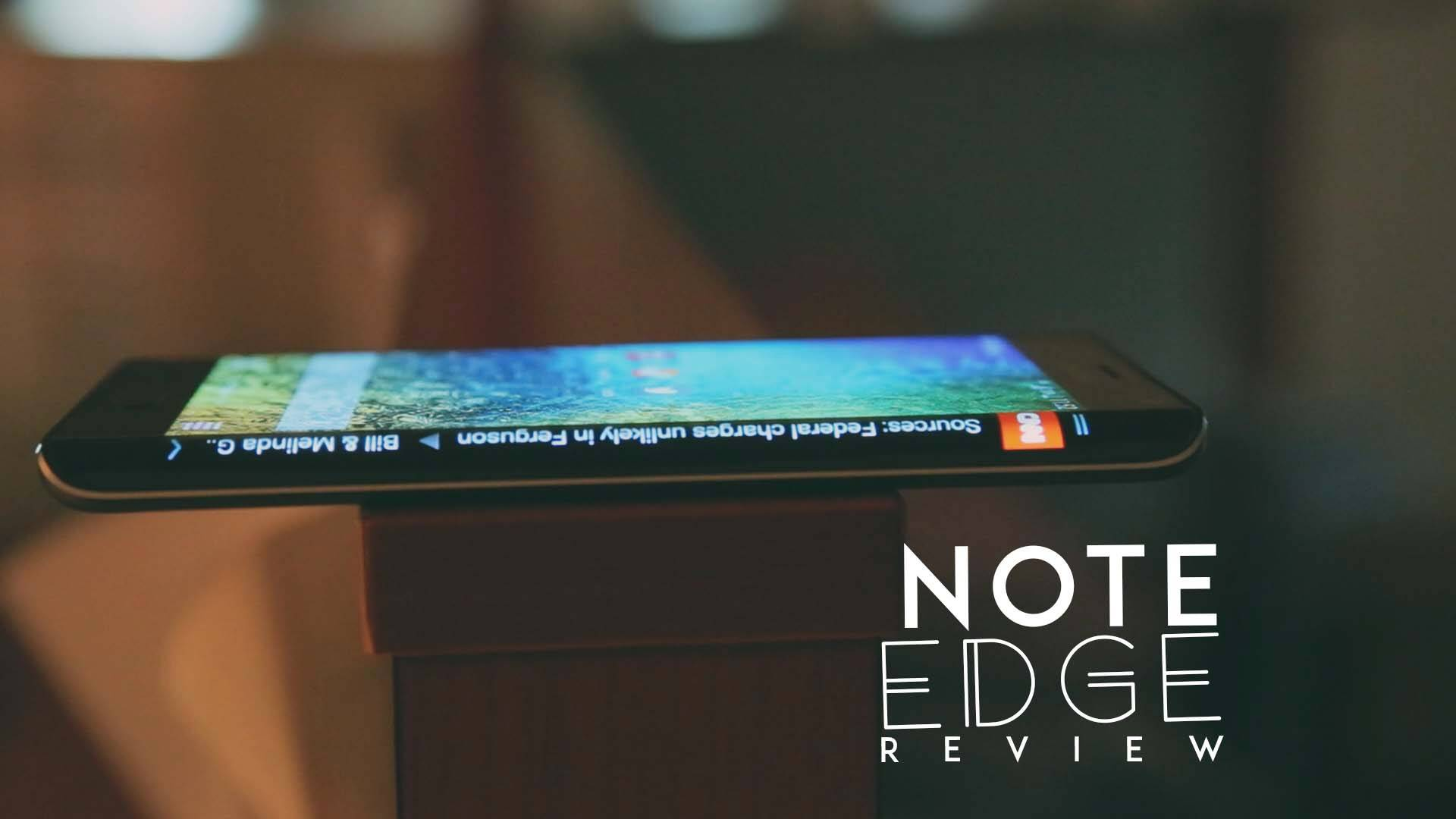The Samsung Galaxy Note now has a clear Edge