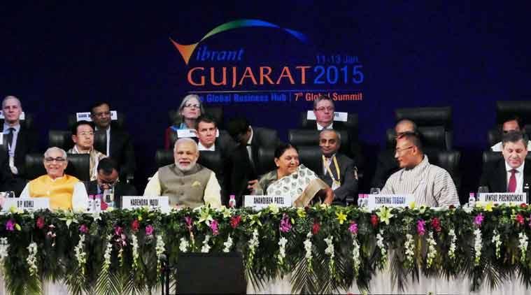 Narendra Modi, Vibrant Gujarat Summit, Modi Vibrant Gujarat summit