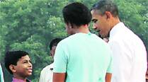 Obama's India story: A stonelayer's son and his father's dreams